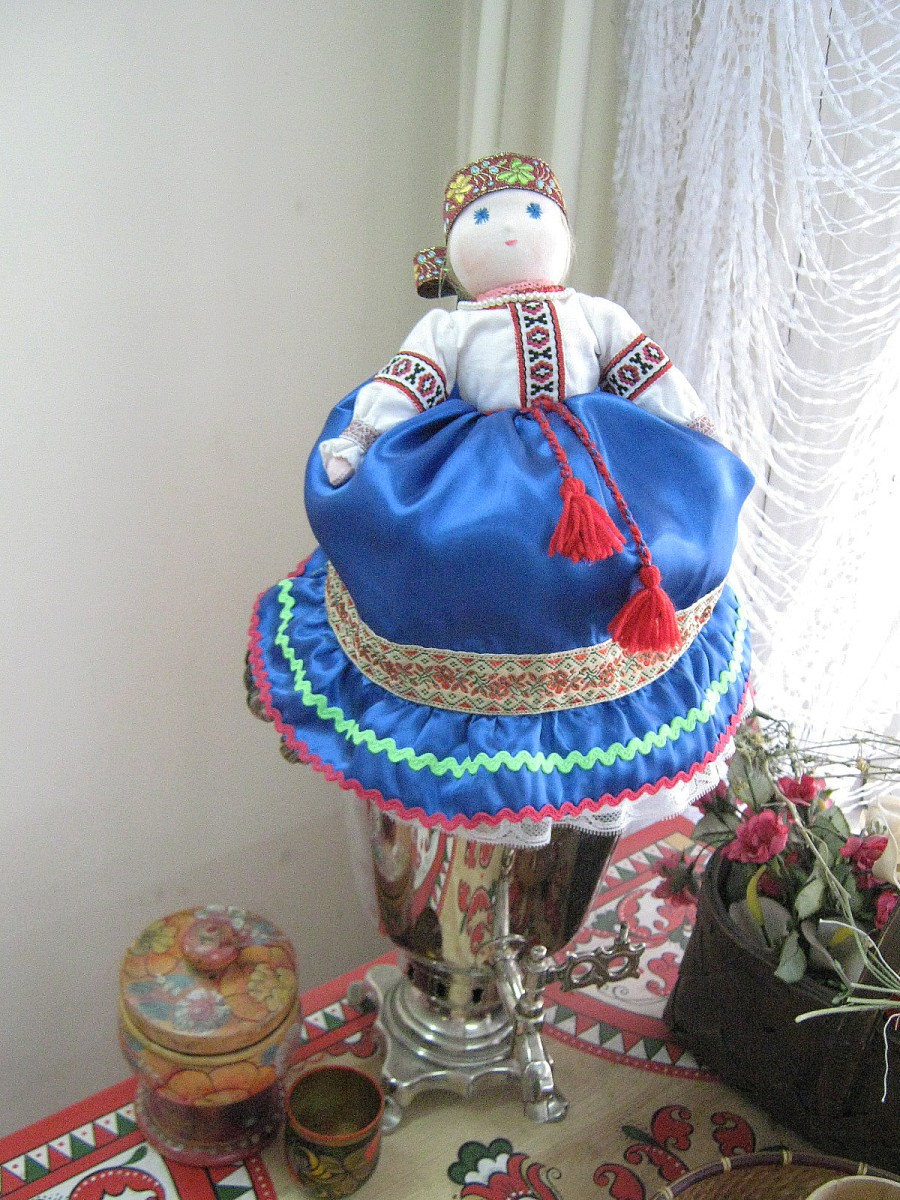 Кукла на самовар своими руками