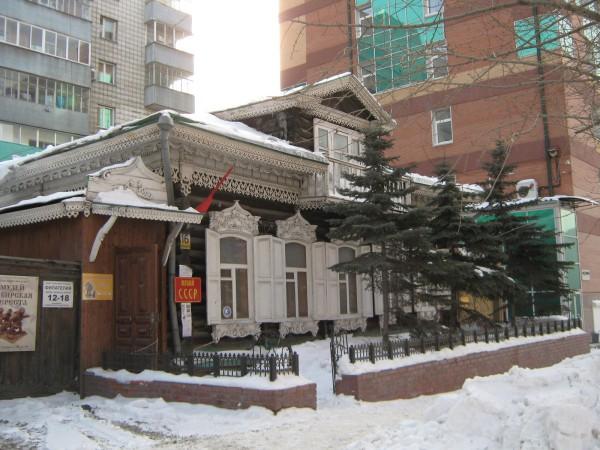 Дом, в котором находится Сибирский дом сказок © Алёна Груя