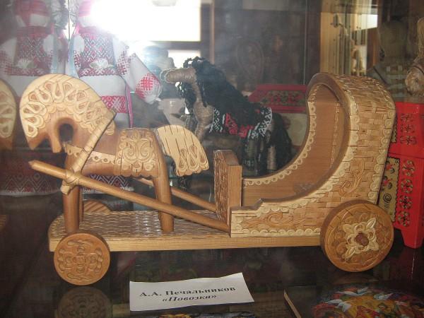 Миниатюра «Повозка» - экспонат музея © Алёна Груя
