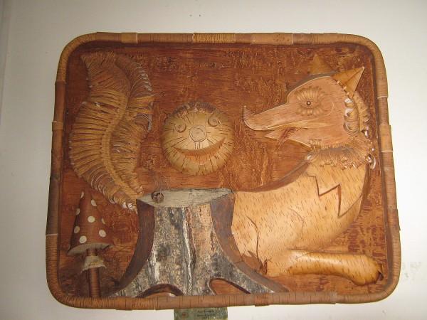 Панно «Колобок» - экспонат музея © Алёна Груя