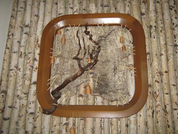 Панно, выставленное во втором зале Сибирского дома сказок © Алёна Груя