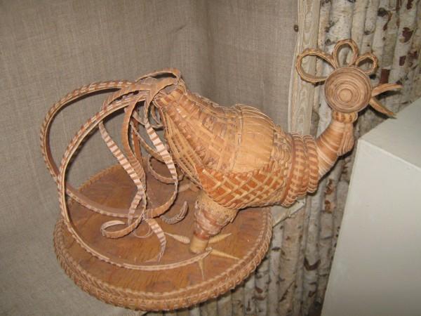 Петушок из бересты в музее © Алёна Груя