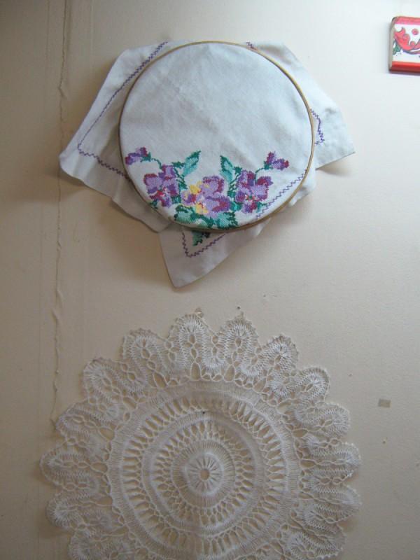 Вышивка на стене в третьем зале музея © Алёна Груя