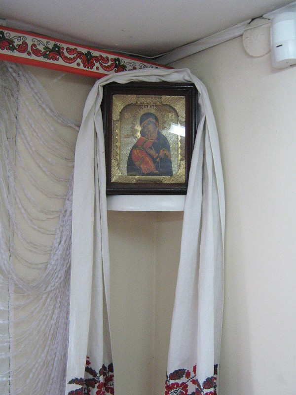 Икона в углу комнаты © Алёна Груя