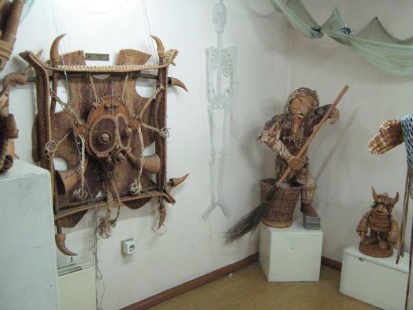 Часть Комнаты страха в Сибирском доме сказок © Алёна Груя