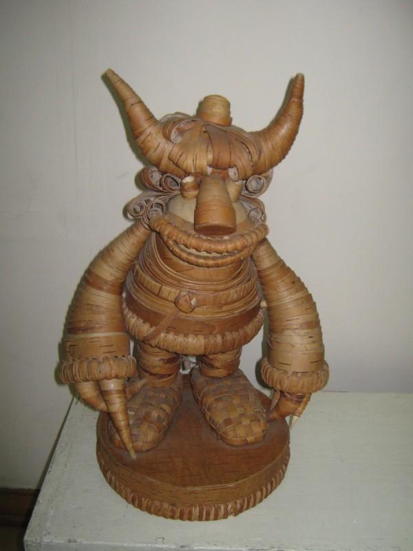 Страшное сказочное существо – экспонат музея © Алёна Груя