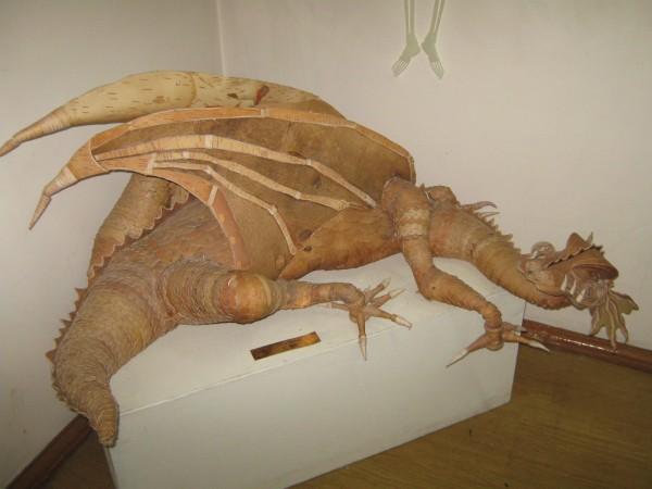 Дракон из бересты – экспонат музея © Алёна Груя
