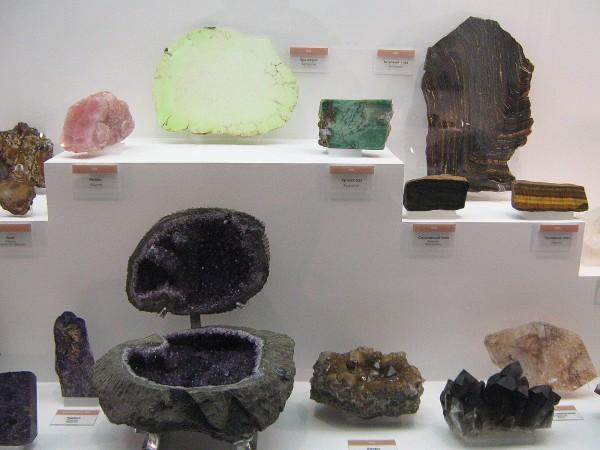 Экспонаты музея – полудрагоценные камни © Алёна Груя