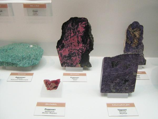 Экспонаты выставки камней и пород © Алёна Груя