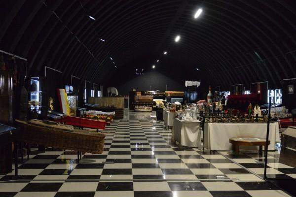 Выставочный зал второго корпуса Музея смерти © Алёна Груя