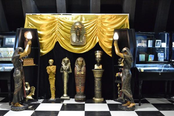 Экспозиция второго корпуса на тему Египта © Алёна Груя