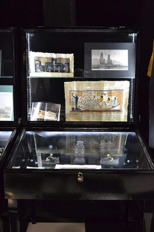 Часть экспозиции, посвященной погребальной культуре Египта © Алёна Груя