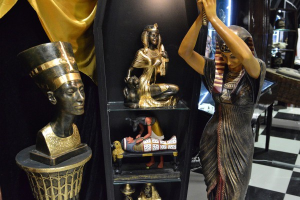 Часть экспонатов, относящихся к египетской тематике © Алёна Груя