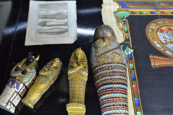 Часть экспозиции, посвященной Египту © Алёна Груя