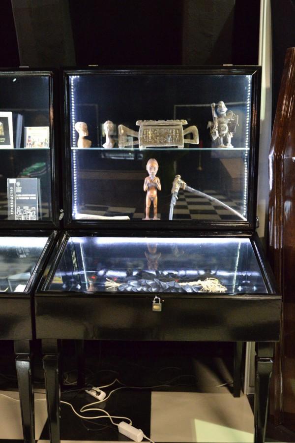 Часть экспозиции, посвященной Африке, в Музее смерти © Алёна Груя
