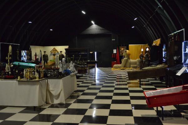 Выставочный зал во втором корпусе Музея смерти © Алёна Груя