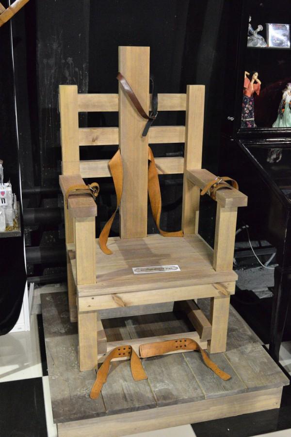 Электрический стул – экспонат музея © Алёна Груя