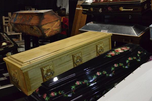 Часть коллекции гробов © Алёна Груя