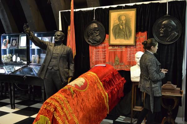 Реконструкция похорон Ленина в музее © Алёна Груя