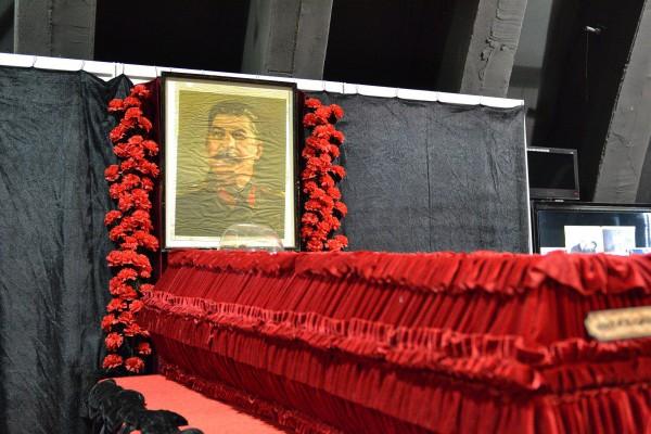 Гроб Сталина – экспонат музея © Алёна Груя