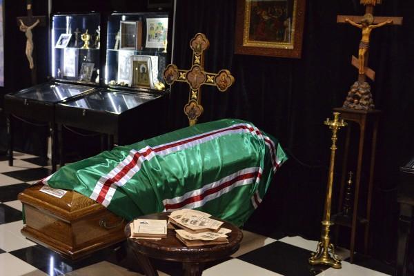 Часть экспозиции, посвященной похоронам известных людей © Алёна Груя