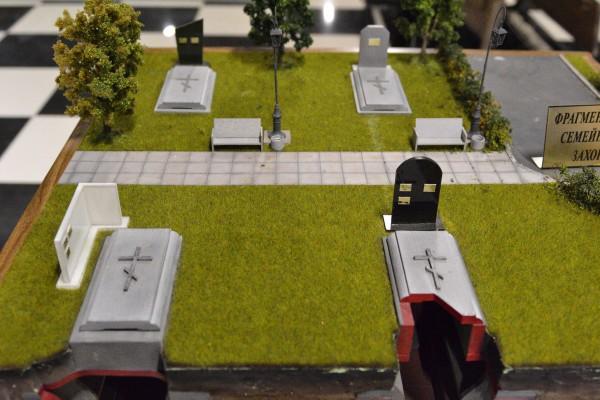 Маленькое кладбище в Музее смерти © Алёна Груя
