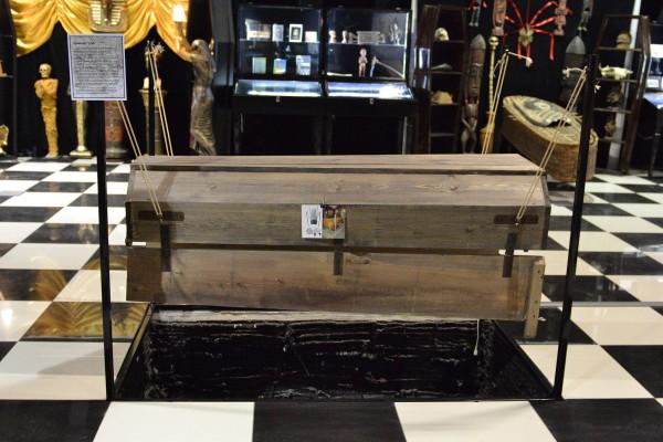 Чумной гроб – экспонат Музея смерти © Алёна Груя