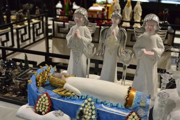 Фигурки ангелов – экспонаты Музея мировой погребальной культуры © Алёна Груя
