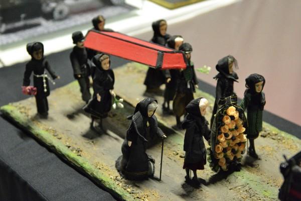 Похоронная процессия – одна из работ в экспозиции музея © Алёна Груя