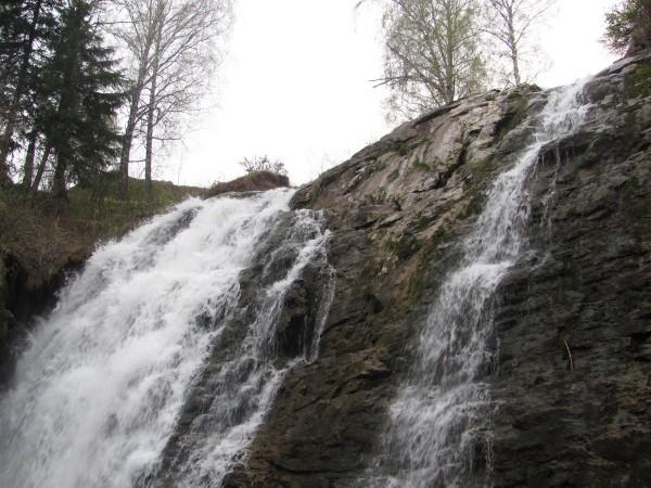Сам водопад во всей красе. © Юлия Полякова