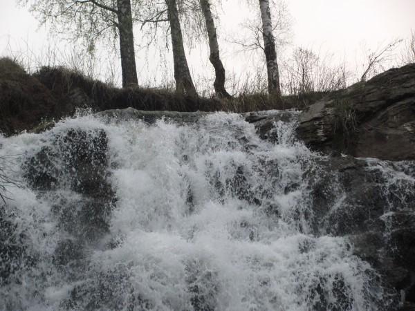 Вода не очень холодная. © Юлия Полякова