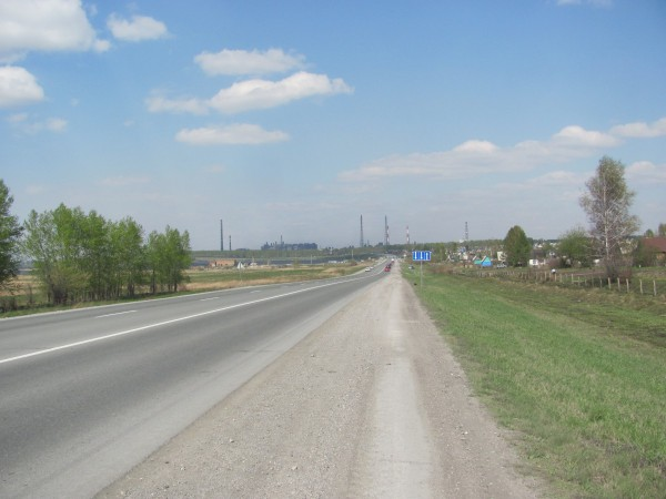 Вид на окрестности Бердска. © Юлия Полякова